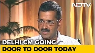 Arvind Kejriwal To Launch AAP's Door-To-Door Campaign Today For 2019 - NDTV