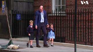 Prince William Brings Children to See the New Royal Baby - VOAVIDEO