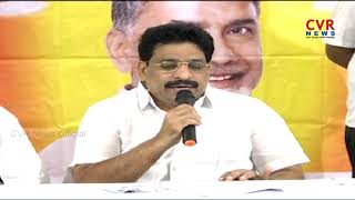 MLC Buddha Venkanna criticizes opposition parties | Vijayawada | CVR News - CVRNEWSOFFICIAL