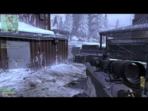 Call Of Duty: MW3 Sniper Gameplay