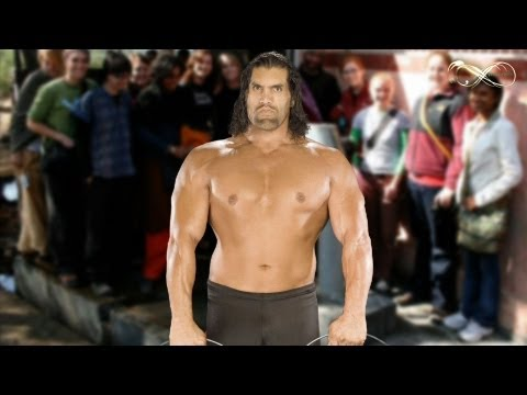 Great Khali in Village Water Queue - Comedy Show Jay Hind!