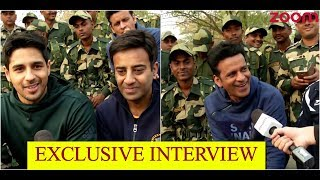 'Aiyaary' Cast Talk About Their Training Experience With BSF Jawans In Jaisalmer - ZOOMDEKHO