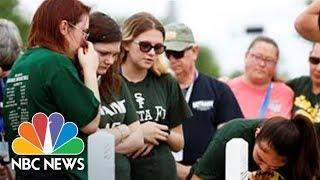Santa Fe School District Holds Meeting Following Shooting | NBC News - NBCNEWS