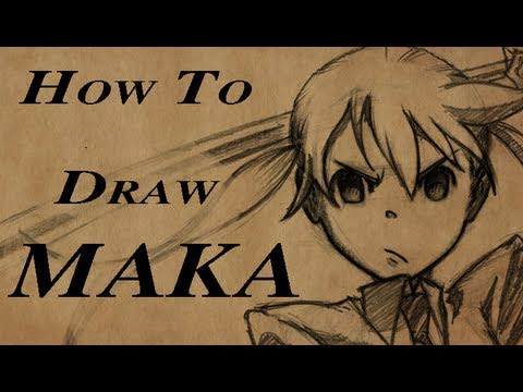 How To Draw Maka from Soul Eater