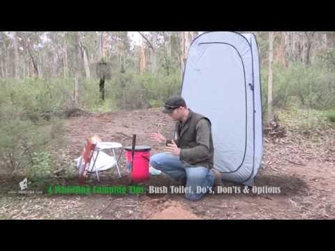 Camping Toilet tips, Bush Toilet & Portable toilet options