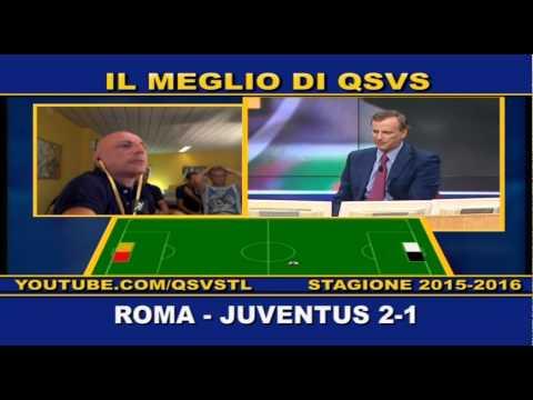 QSVS - I GOL DI ROMA - JUVENTUS 2-1 - TELELOMBARDIA / TOP CALCIO 24