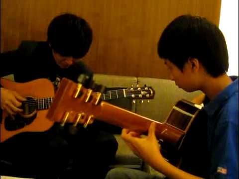 Fight - Kotaro & Sungha Jung practice