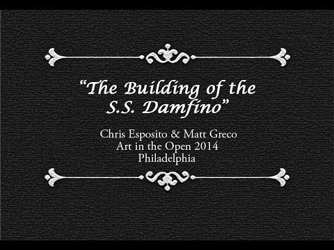 The building of the SS Damfino for Philadelphia's Art in the Open 2014.  Damfino is a collaborative team made up of Chris Esposito and Matt Greco based in Long Island City, NY.