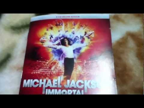 Michael Jackson Immortal Booklet
