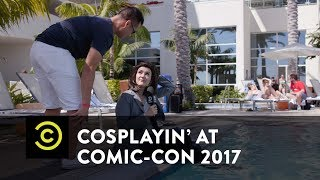 Cosplayin' with Patti Harrison: Comic-Con 2017 - Uncensored - Comedy Central - COMEDYCENTRAL