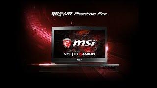 Видео обзор ноутбука MSI GS43VR 6RE-020RU Phantom Pro