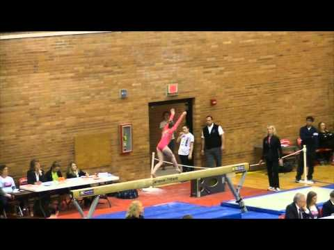 Claire Tunnell Level 10 Beam States 2015-Pa State Beam Champion