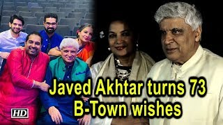 Javed Akhtar turns 73, B-Town wishes the 'magician', 'philosopher' - IANSLIVE