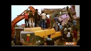 Several houses demolished for construction of 4-lane road in Morena - INDIATV