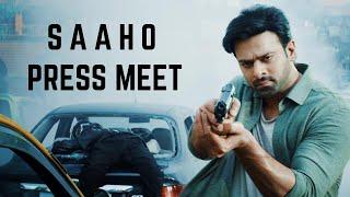 SAAHO  Trailer |  PRESSMEET| Prabhas Shraddha Kapoor - TELUGUONE