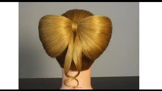 Легкая прическа для средних волос косички