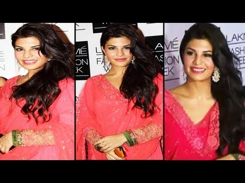 Beautiful Jacqueline Fernandez Looks Sizzling Sexy In Pink Dress