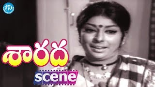 Sarada Movie Scenes - Sharada Comedy || Shobhan Babu || Kaikala Satyanarayana || Rao Gopal Rao - IDREAMMOVIES