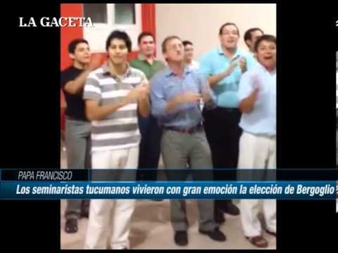 Así lo vivieron los seminaristas tucumanos