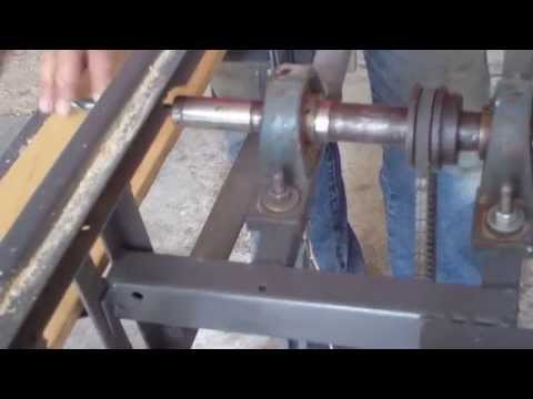 Sierra de banco hecha en casa, Homemade - How to build a