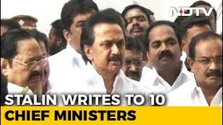 MK Stalin Writes To PM Modi, 10 Chief Ministers On 15th Finance Commission - NDTV