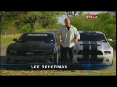 Battle Of The Supercars Camaro SS vs. Shelby GT500 Mustang Part 1