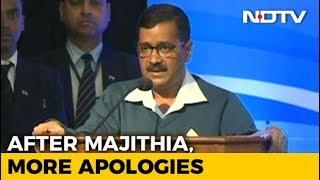 """With Kapil Sibal And Nitin Gadkari, Arvind Kejriwal Hits 3 Of 33 """"Sorrys"""" - NDTV"""