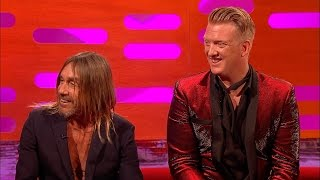 Iggy Pop has a lot of chairs - The Graham Norton Show: Series 19 Episode 14 - BBC One - BBC