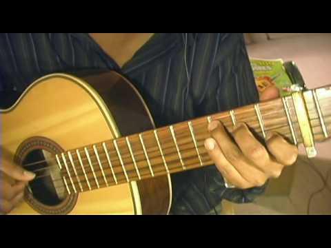 menudo - si tu no estas -  guitarra tuto acordes
