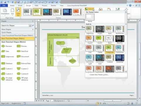 Microsoft Visio Tutorial - Video 2 of 3