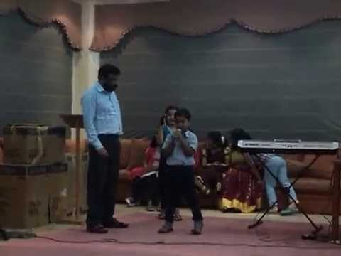 MAHATH JACOB SAM - SINGING UNARUMEE GANAM (10/4/2014)