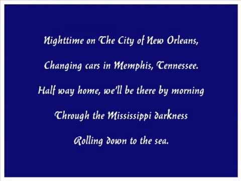 Willie Nelson_s Version of City of New Orleans Sung by Larry Lillard.wmv