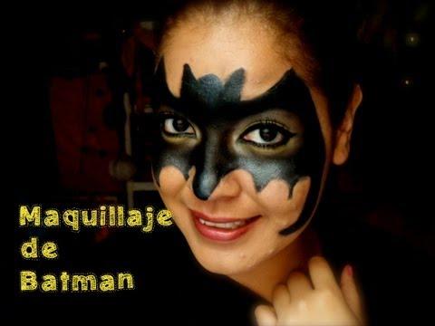 Maquillaje para Halloween...Batman