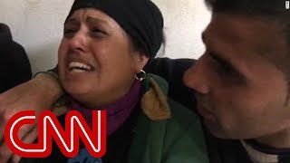 Mother in agony after airstrike kills her baby - CNN