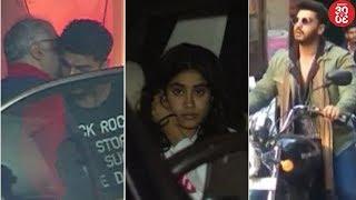 Boney, Khushi & Janhvi Bond With Arjun Kapoor | Arjun Shoots 18-Hours A Day For 'Namastey England' - ZOOMDEKHO