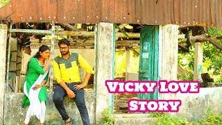 New Telugu Love Shortfilm || Vicky Love Story || Trailer Directed by Vasu Dev - YOUTUBE