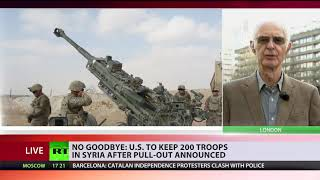 Hard to Say Goodbye? US to leave 200 troops in Syria for a 'period of time' after withdrawal - RUSSIATODAY