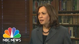 Kamala Harris Says Health Care 'Should Be A Right' | NBC News - NBCNEWS