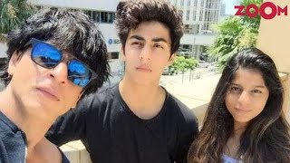Shah Rukh Khan reveals career plans of his kids Aryan Khan & Suhana Khan | Bollywood News - ZOOMDEKHO