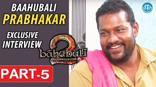 Baahubali Prabhakar Exclusive Interview Part #5 || Talking Movies With iDream - IDREAMMOVIES