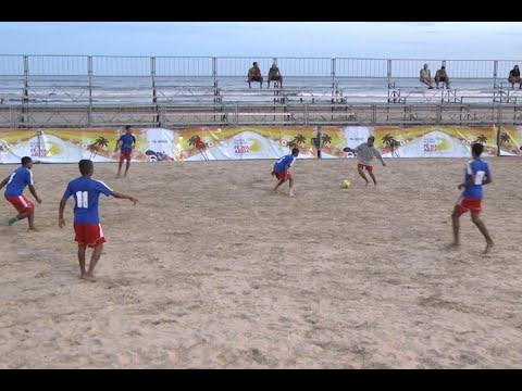 TV Costa Norte - W.Os antecedem oitavas de final em rodada da Taça Beach Soccer