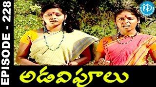 Adavipoolu    Episode 228    Telugu Daily Serial - IDREAMMOVIES