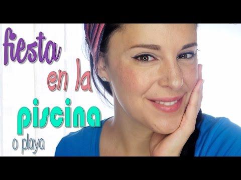 Maquillaje de noche para fiesta en la piscina o playa | Silvia Quiros