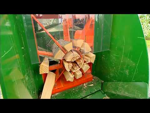 Posch Spaltfix K-450 firewood processor