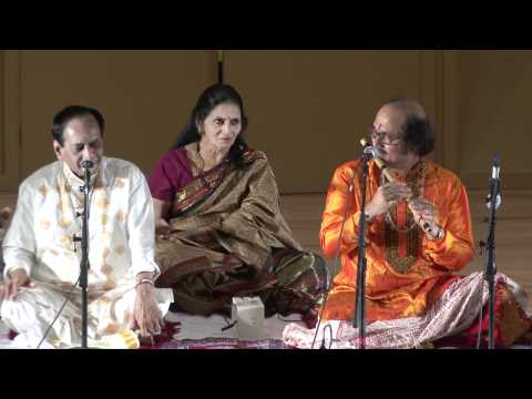 Vedic Cultural Center - JUGALBANDI Mangalampalli Balamurali Krishna &amp; Ronu Majumdar - Part II
