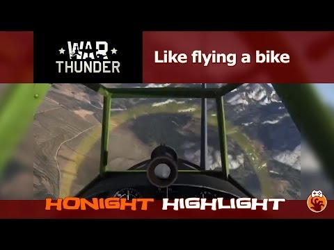 War Thunder - Like flying a bike