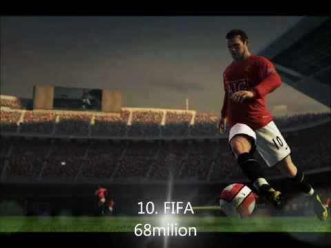 THE TOP TEN - I 10 Videogiochi più venduti di sempre 2011/2012