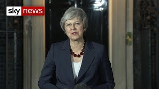Watch Theresa May's Brexit statement in full - SKYNEWS