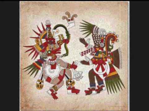 "El Salvador, ""Danza de las Obsidianas"", Tezcatlipoca,  Pipil Nahuat, Grupo Musical Indigena"