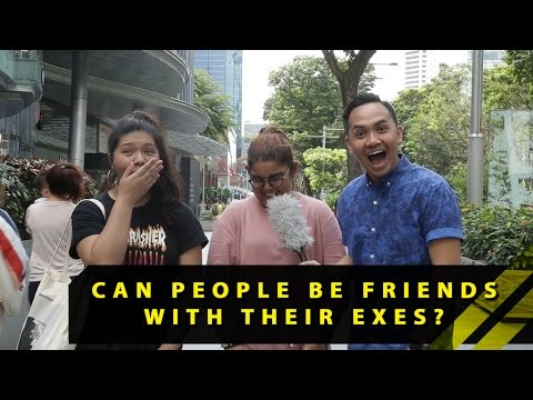 Can People Be Friends With Their Exes? | Word On The Street | EP 23